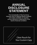 Annual Disclosure Statement Mandatory Sign (Comptroller Currency)