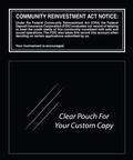 Community Reinvestment Act Mandatory Sign (FDIC Banks)