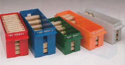 Extra Capacity Rolled Coin Tray U S Bank Supply