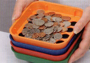 Coin Sorting Trays - Main Image