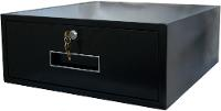 Cash drawer with dead bolt lock