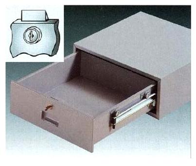 cash drawer with spring bolt lock u s bank supply. Black Bedroom Furniture Sets. Home Design Ideas