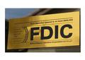 FDIC bank stickers, depositor insured to $250,000