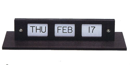 Double dating calendar