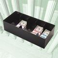 5-Compartment Steel cash Tray