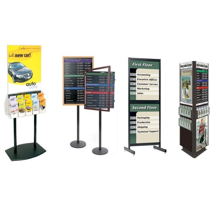 Signs & Displays, Floor Display Frames