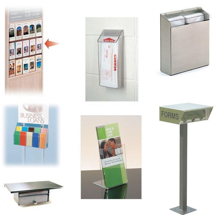 Signs & Displays, Brochure Holders