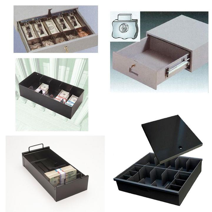Cash Handling, Cash Drawers & Trays