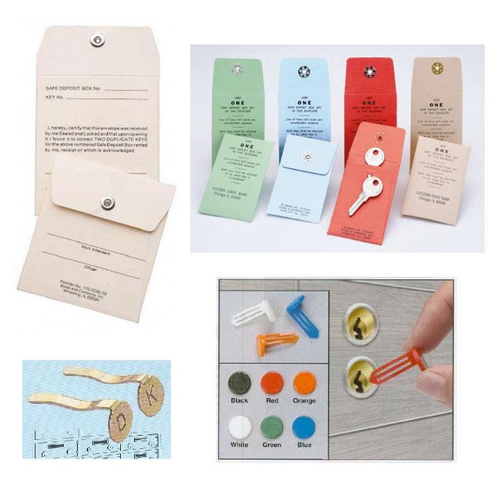 Teller & Vault, Vault Keyhole Signals & Key Envelopes